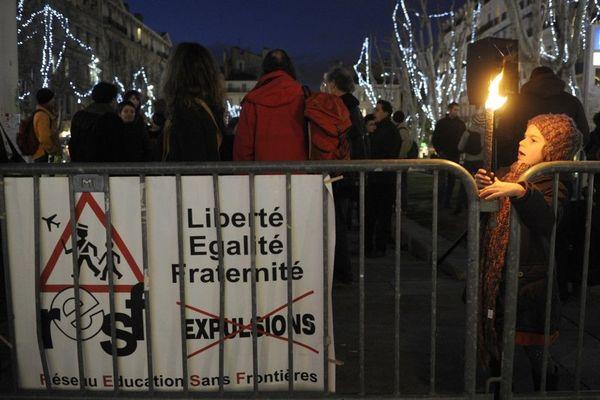Photo d'illustration : manifestation du RESF à Marseille en 2010 (déjà).