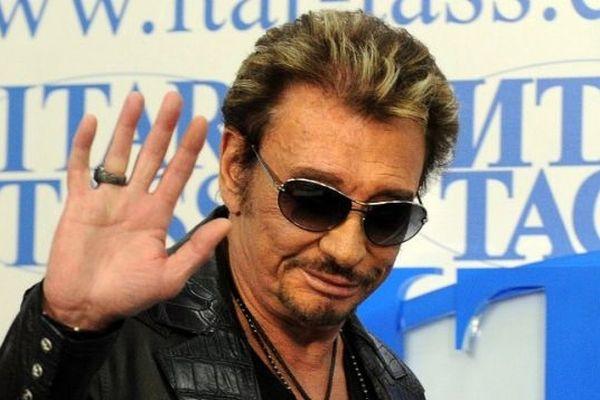 Johnny à Moscou en mai 2012