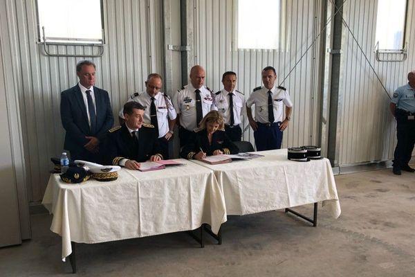Ce mardi 2 juillet, le dispositif feux de forêt pour la saison 2019 a été présenté à Solenzara.