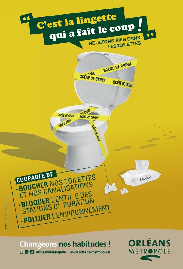 Campagne de sensibilisation de la métropole d'Orléans (2019)