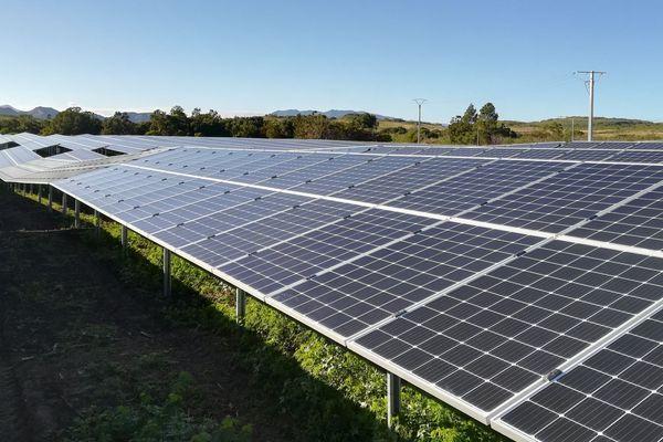 Développant une puissance de 50 MWc, soit l'équivalent de la consommation d'une ville de 32 000 habitants, le futur parc d'Haulchin sera mis en service en 2022