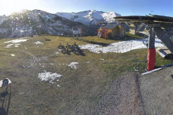 La station de Guzet est actuellement fermée, faute de neige.