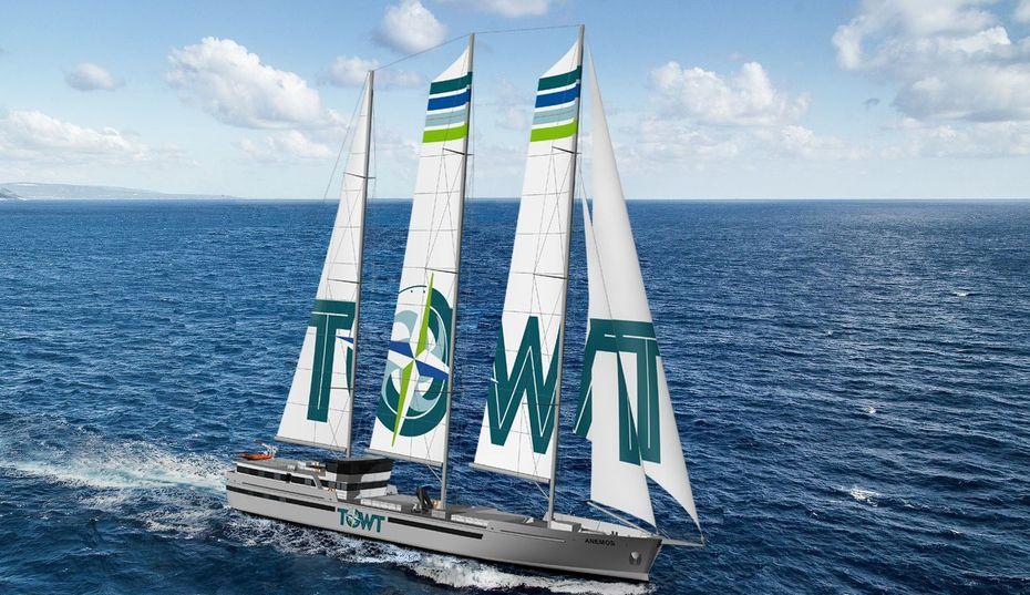 TOWT transport à la voile