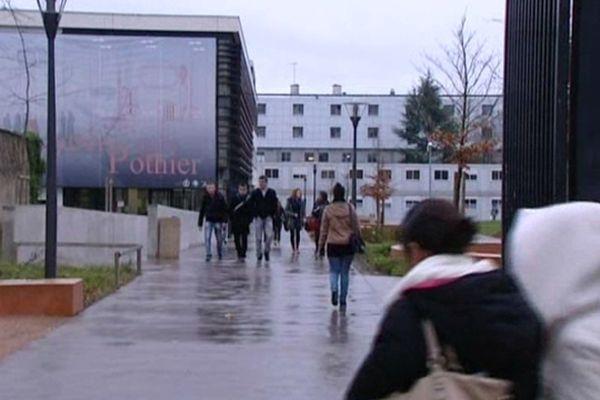 Lycée Pothier à Orléans (Loiret) - (archive)