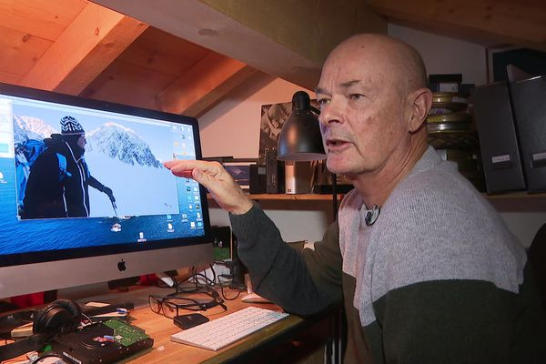 """Guido Perrini dans son antre dans le Valais Suisse : """"Tout se passe dans la tête"""""""