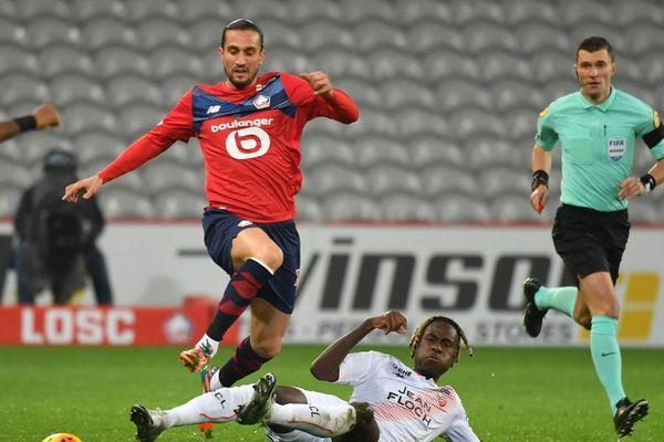Yussuf Yazici a été l'homme du match avec deux buts et une passe décisive.