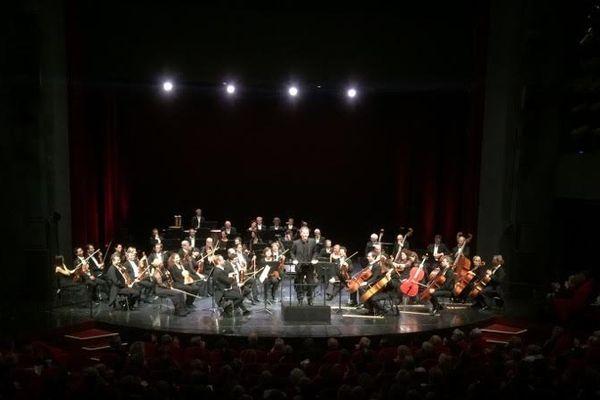 L'orchestre philharmonique de Monte-Carlo à Bastia.