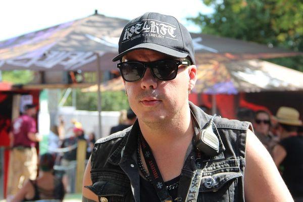 Alexxx, l'un des boss du Hellfest, chargé de la communication du festival et en charge du Hellfest Cult