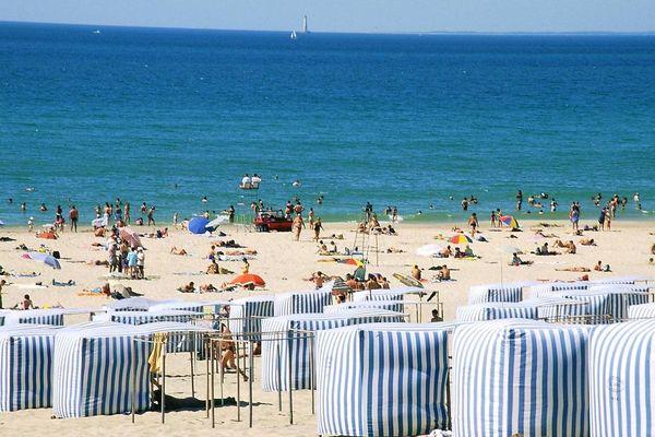 La plage de Soulac-sur-mer en Gironde