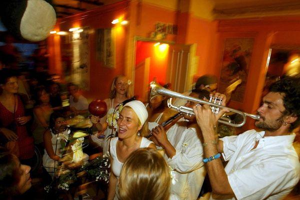 Fête de la Musique sur le Vieux-Port à Marseille en 2004