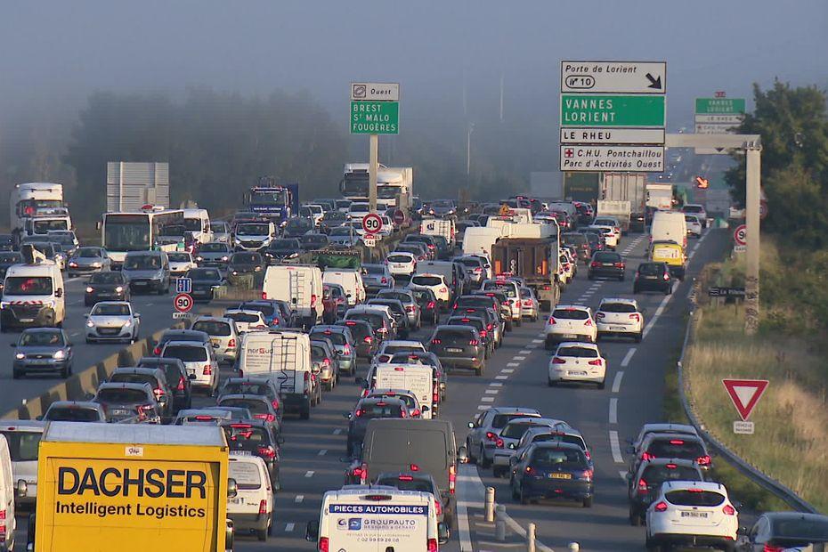 Embouteillages à Rennes: le bouchon poussé de plus en plus loin. On vous explique pourquoi (et si ca va durer)