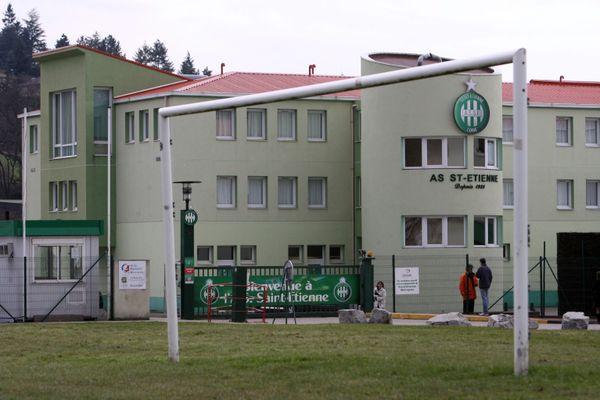 Le centre de formation de l'AS Saint-Etienne à l'Etrat où deux jeunes footballeurs auraient été roués de coups lors d'un bizutage le 24 juillet 2020.