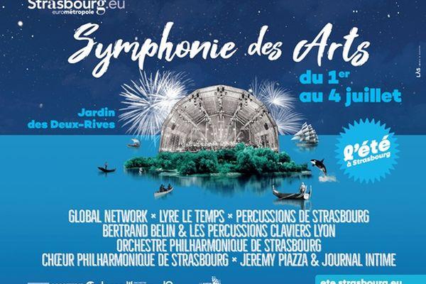 La Symphonie des arts se déroulera du 1er au 4 juillet 2021