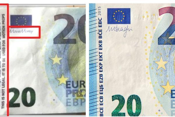La gendarmerie des Pyrénées-Orientales met en garde contre une arnaque au moyen de faux billets de 20 euros.
