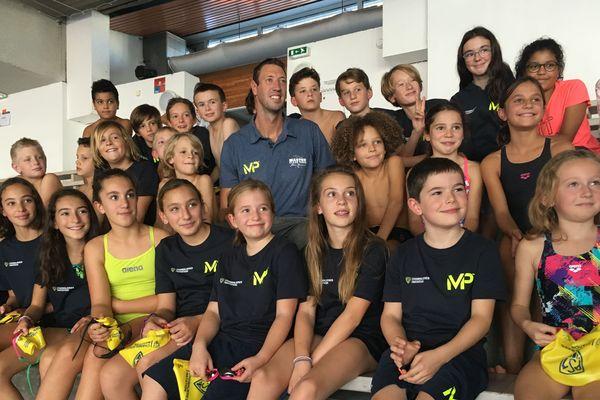 Le 17 octobre, le champion olympique Alain Bernard a donné une Master Class au centre aquatique de Chamalières.