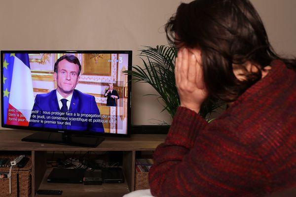 Emmanuel Macron a annoncé de nouvelles restrictions ce lundi soir