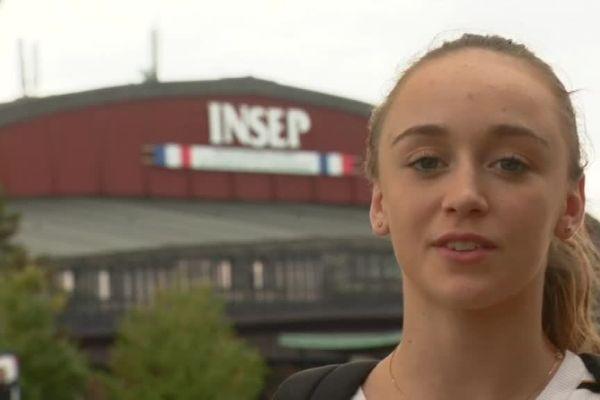 A 17 ans, Chloé Sivadier fait partie du pôle France de gymnastique rythmique.