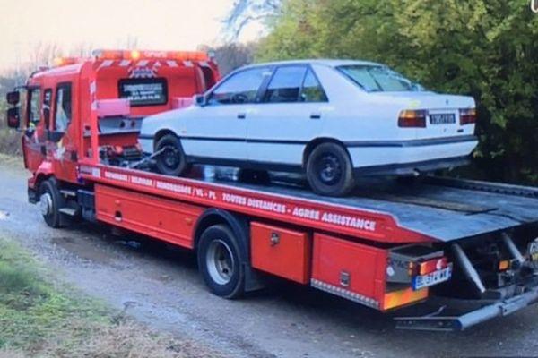 La voiture qui a mortellement percuté le gendarme à Tarascon-sur-Ariège
