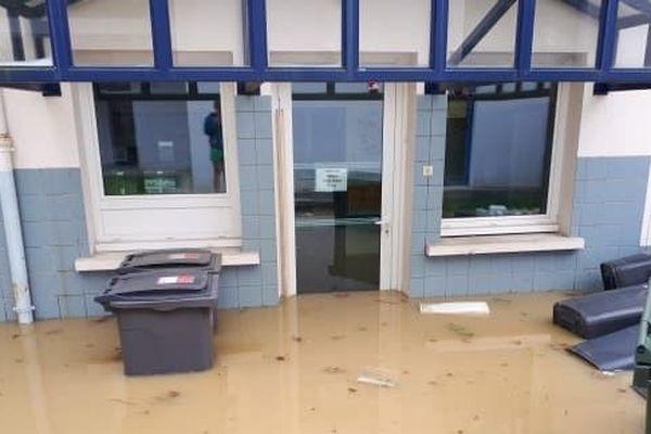 La maternelle de la commune landaise avait été envahie par près de 45 cm d'eau. Les travaux ont duré tout l'été.