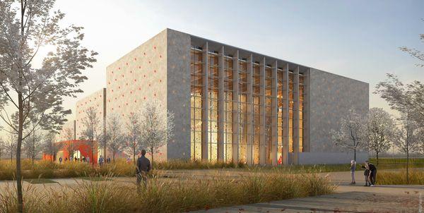 La future salle omnisports de Troyes