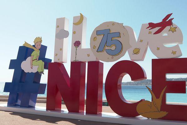 Pour les 75 ans de la première édition du Petit Prince, la ville de Nice rend hommage à l'auteur.