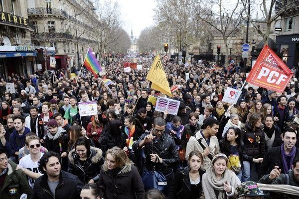Le 16 décembre, les partisans du mariage pour tous avaient réuni à Paris environ 150.000 personnes