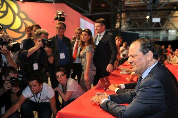 ILLUSTRATION - Le Premier secrétaire du PS, Jean-Christophe Cambadélis doit prononcer un discours à 11 heures ce dimanche.