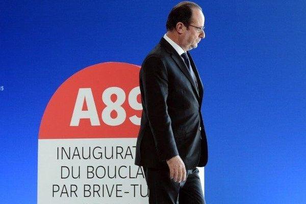 Discours de François Hollande sur le barreau autoroutier