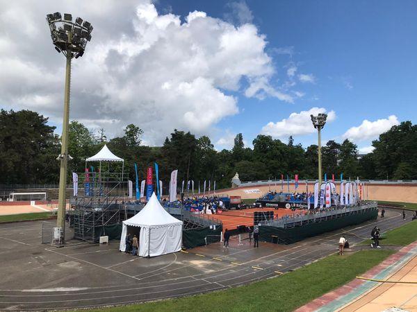 A l'Open Parc AURA, les rencontres de ce mercredi 19 mai se jouent à guichet fermé