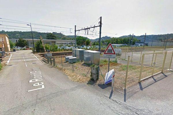 Gare de Saint-Romain-en-Gal, près de Vienne.
