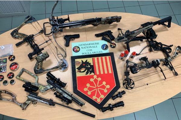 Les armes saisies ont été détruites