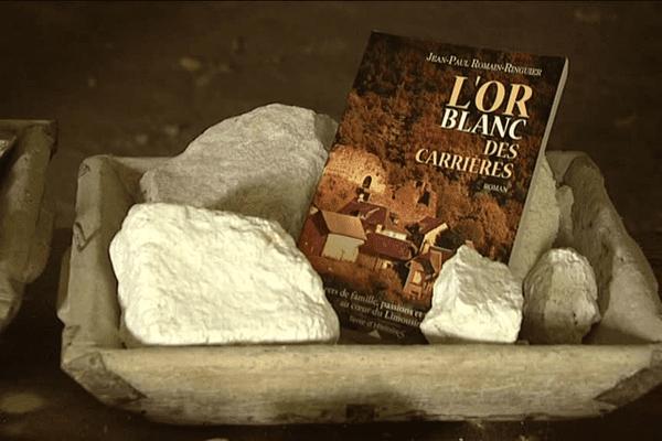 """L'histoire de """"L'or blanc des carrières"""" se déroule dans la carrière de kaolin de Marcognac, à Saint-Yrieix-la-Perche."""
