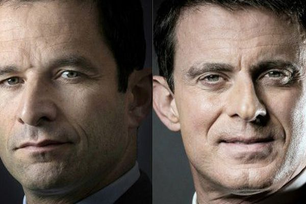 Benoit Hamon devance l'ancien Premier ministre Manuel Valls et obtient 36,4% des voix au niveau national.