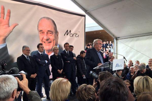 A Sarran, le touchant hommage de la Corrèze à Jacques Chirac