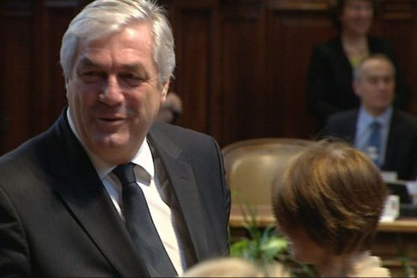 François Sauvadet, élu président du Conseil départemental de Côte-d'Or