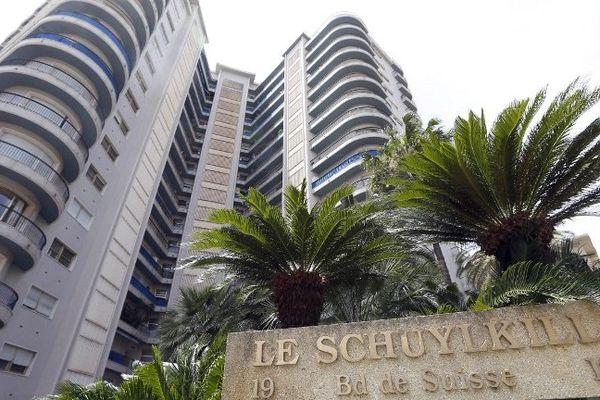 L'immeuble de Monaco dans lequel Sylvia Pastor et son mari résident.