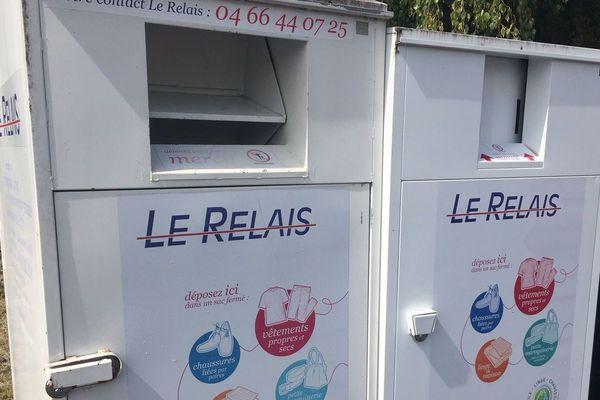 On compte plus de 45 000 conteneurs de textile comme celui-ci dans la France entière.