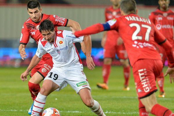 Ligue 2- Défaite de l'AC Ajaccio, vendredi 13 mai 2016, à Dijon.