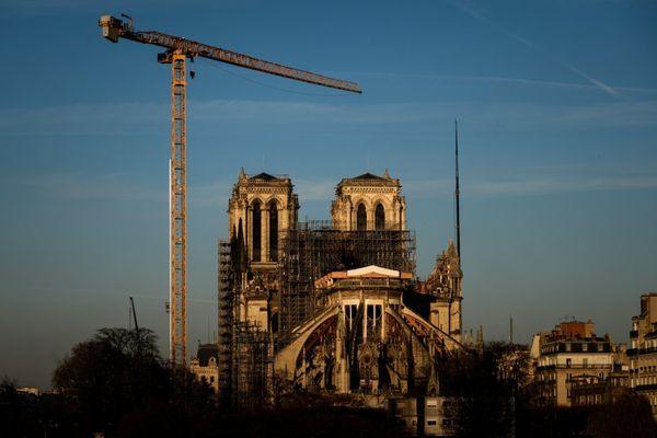 La cathédrale Notre-Dame de Paris le 6 janvier 2020. Philippe LOPEZ / AFP