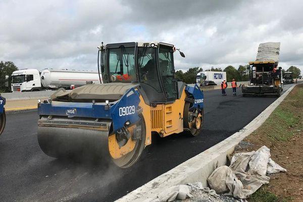 Le chantier de l'élargissement de l'A13 a pris un an de retard