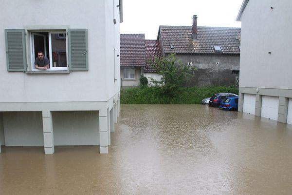 Burnhaupt-le-Bas avait été reconnue en état de catastrophe naturelle après les inondations de juin 2018.