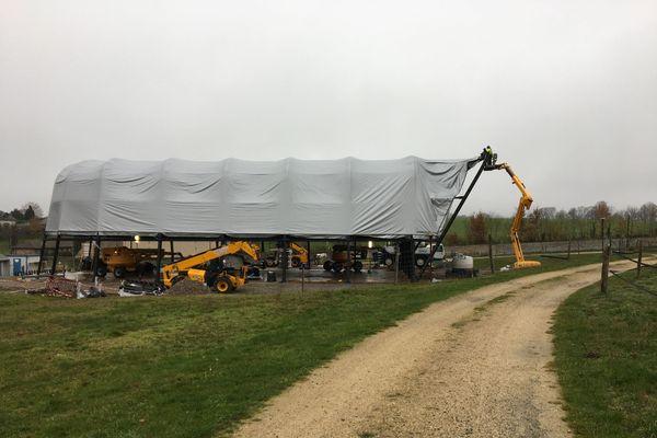 Il faudra attendre quelques mois pour que la structure soit prête.