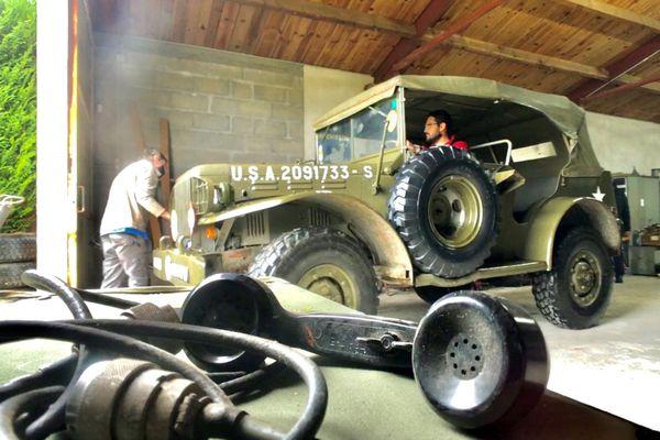Les jeeps de l'US Army sont des pièces très prisées des collectionneurs