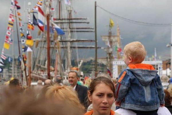 L'Armada 2013 à Rouen.