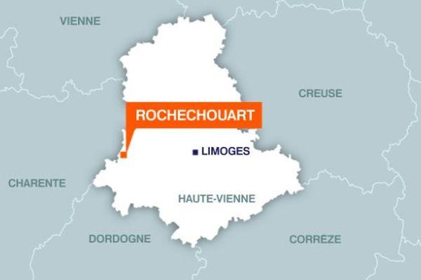 Rochechouart (localisation)