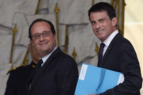 François Hollande et Manuel Valls, le 11 mai dernier à l'Elysée