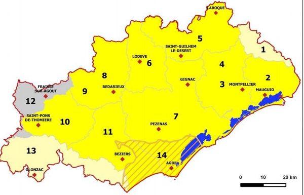 La sécheresse dans l'Hérault