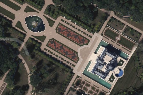 Capture d'écran Google Map.