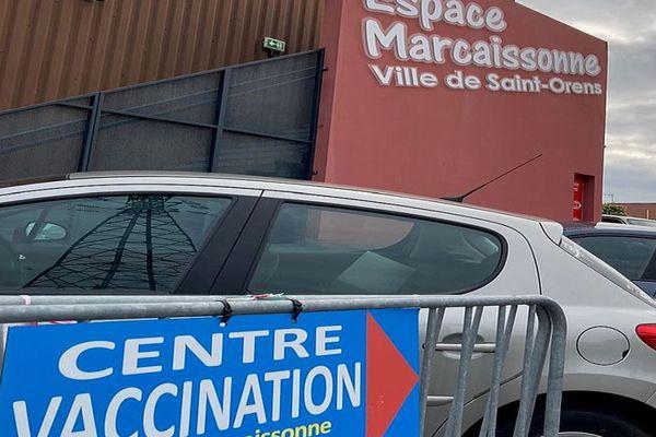 3.500 doses de vaccins détruites au centre de vaccination de Saint-Orens près de Toulouse. 18 août 2021.