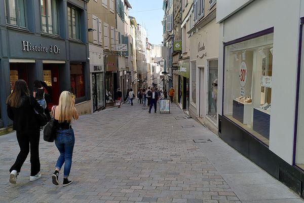 Limoges, la colère se fait sentir chez les commerçants